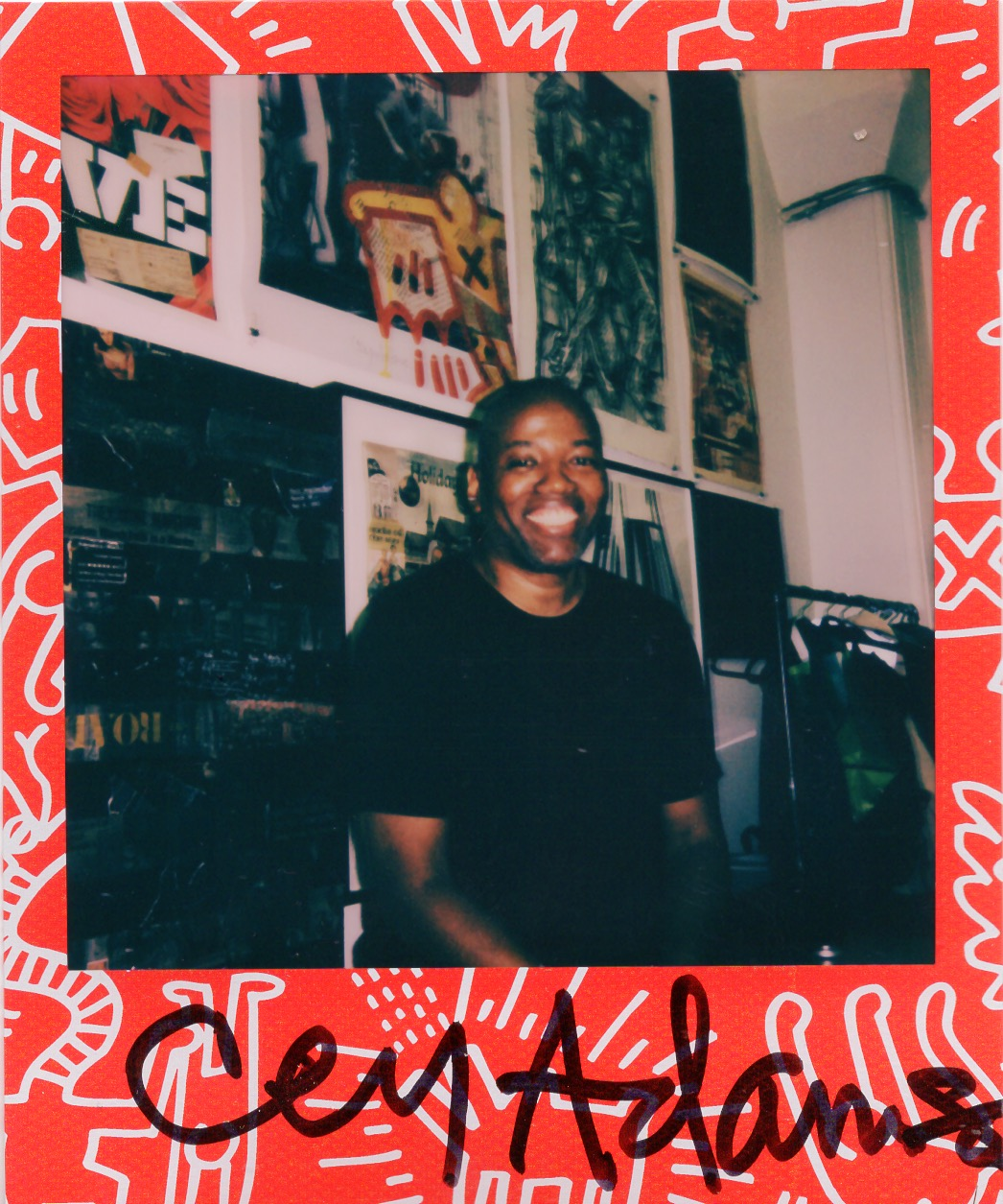 Keith Haring x Polaroid : Cey Adams: the US artist and downtown NYC legend who visualised 80s East Coast hip-hop