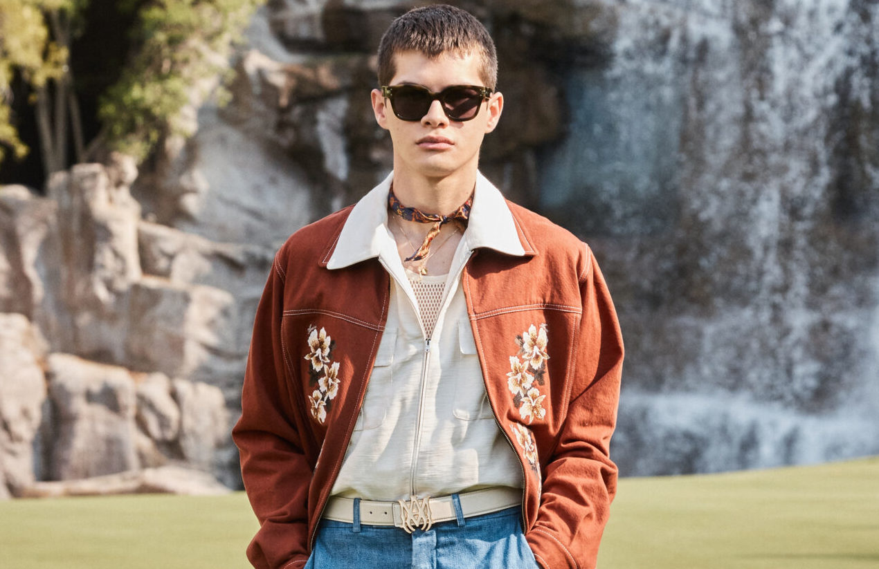 : Amiri SS22 was a wellness retreat located between fantasy and reality