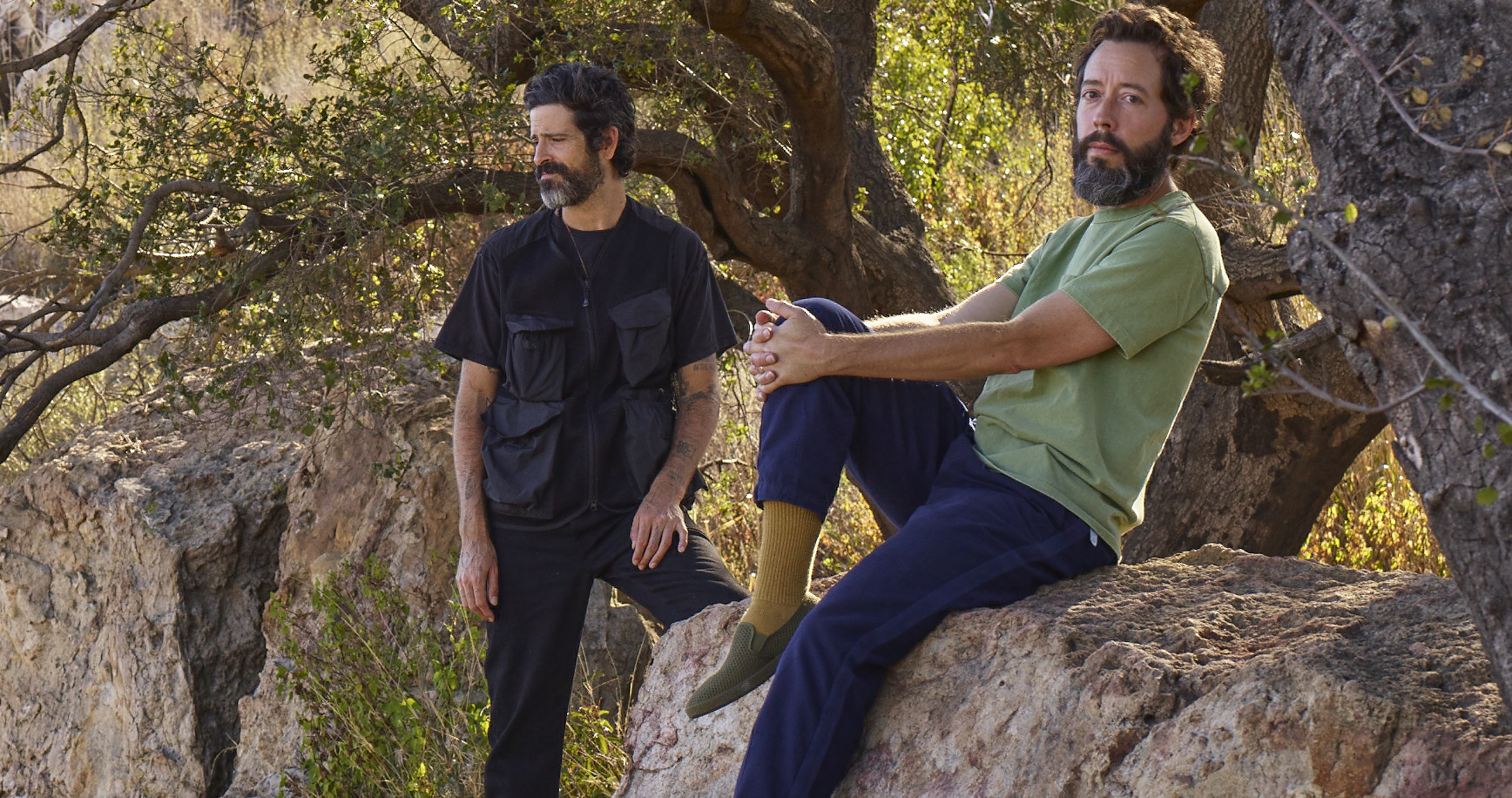 Refuge : Devendra Banhart and Noah Georgeson on 80s health food stores, Halloween hallucinations and shared spirituality