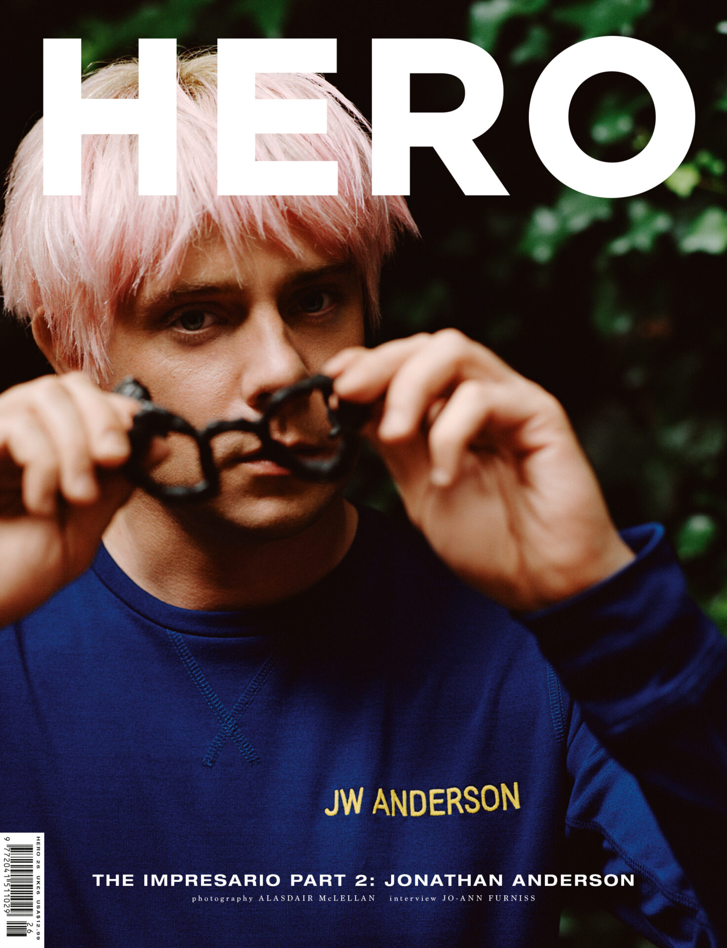 Back to School : HERO 26: BACK TO SCHOOL –out now, Alasdair McLellan shoots 'The Impresario Part 2: Jonathan Anderson'